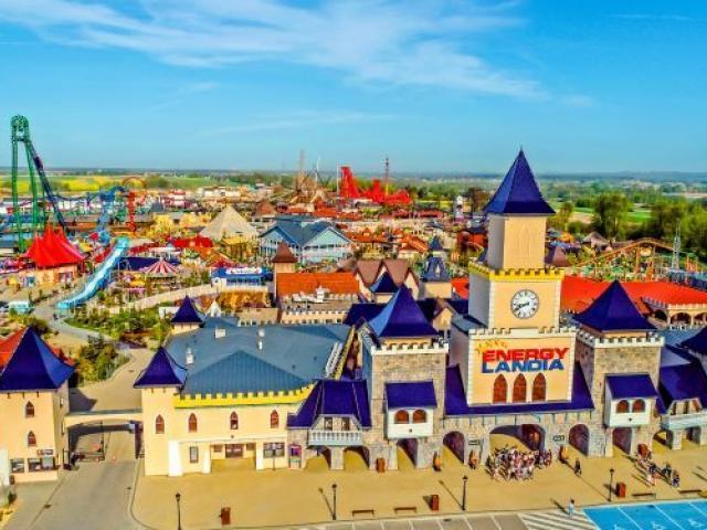 Energylandia największy park rozrywki w Polsce