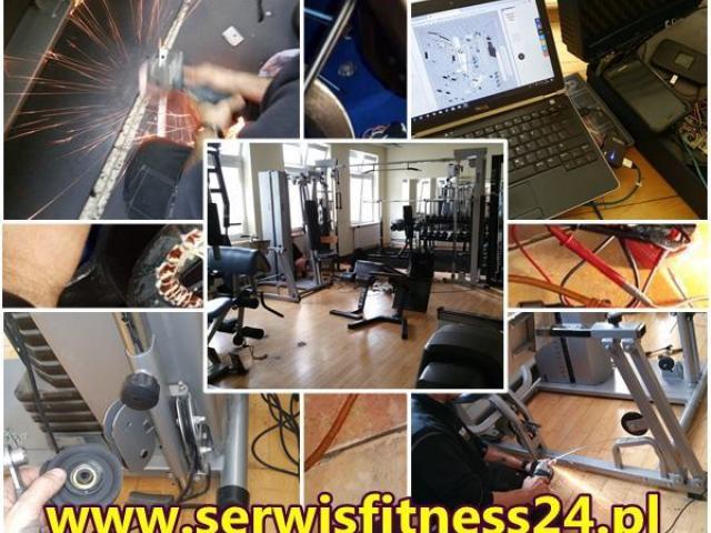 Naprawa ,serwis sprzętu fitness ,rowery treningowe bieżnie atlasy trenażery orbitreki