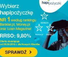 Pożyczka przez internet na konto Zacznij spłacać nawet za 2 miesiące