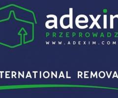 Przeprowadzki międzynarodowe i krajowe Adexim