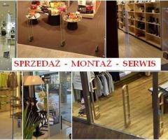 Sprzedaż - serwis bramki antykradzieżowe, liczniki klientów, kamery