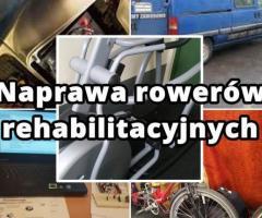 Serwis rowerów poziomych oraz trójkołowych,Rotorów rehabilitacyjnych do ćwiczeń biernych