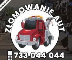 złomowanie samochodów Kraków i cała Małopolska