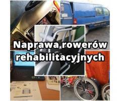 Rowery naprawa, serwis mobilny. Dojazd - Siedź w domu dzwoń 607715169