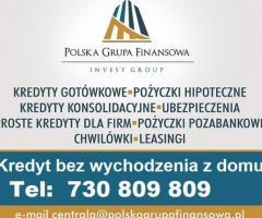 Połącz wszystkie kredyty bez wychodzenia z domu wystarczy PIT-11,  RRSO 8,3% do 200 tys
