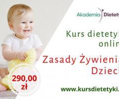 Kurs Dietetyki - Żywienie dzieci