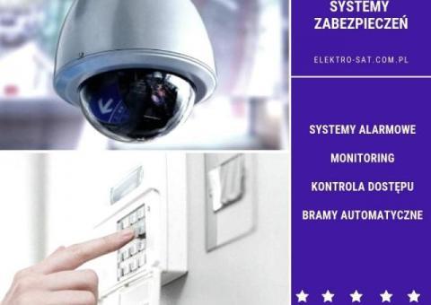 Systemy alarmowe, monitoring, inteligentny dom Świdwin