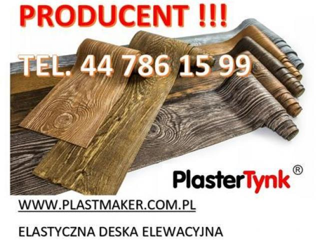 PlasterTynk - Elastyczna Deska Elewacyjna / Dekorlux ,Dekostyl, Perfectstyr, Dekordeska - 1/1