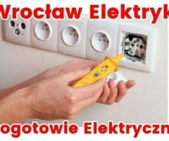 Elektryk Wrocław 24 / Pogotowie Elektryczne Całodobowe / Serwis Elektryczny