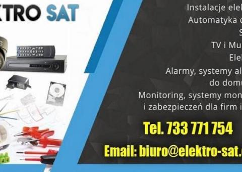 Instalacje elektryczne, monitoring, alarm, elektryk Trzebiatów
