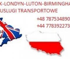 Przewóz osób,paczek,przeprowadzki Polska-Londyn-Birmingham