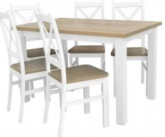 Stół rozkładany z krzesłami tanio - sprawdź na BirdMeble.pl