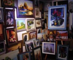 obrazy na zamówienie: pejzaże, portrety, zwierzęta, martwa natura, Kraków