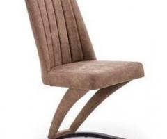 Krzesło w ekologicznej eco skórze