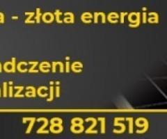 ZAKŁADANIE PANELI FOTOWOLTAICZNYCH - ENERGIA ZE SŁOŃCA 579 555 111