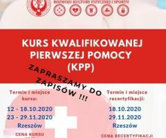 Kurs Kwalifikowanej Pierwszej Pomocy KPP