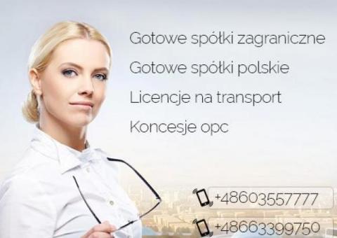 Gotowe Fundacje, Gotowa Spółka Niemieckia, Bułgarskie, Czeskie, Słowackie