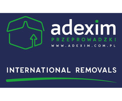 Firma przeprowadzkowa Adexim - przeprowadzki krajowe i międzynarodowe