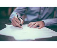 Pisanie różnych wzorów: lic., mgr, copywriter