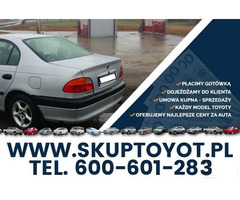 Skup Toyota Avensis D4D Corolla e11 e12 Picnic Hiace Kupie