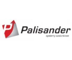 Uchwyt zaciskowy barierek i deski zabezpieczające - Palisander